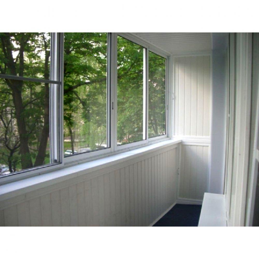 Остекление балконов с выносом, балкон с нуля в Челябинске, ц.