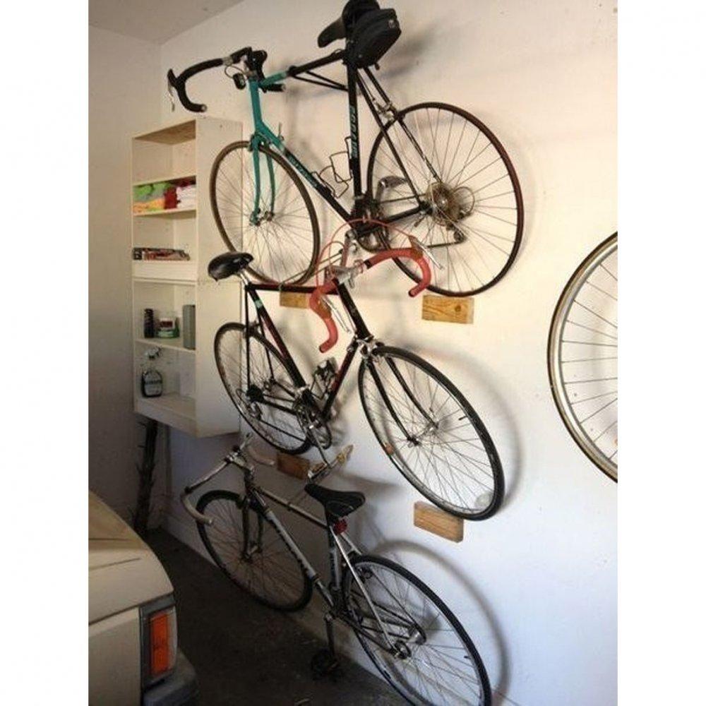 Как хранить велосипед в квартире.